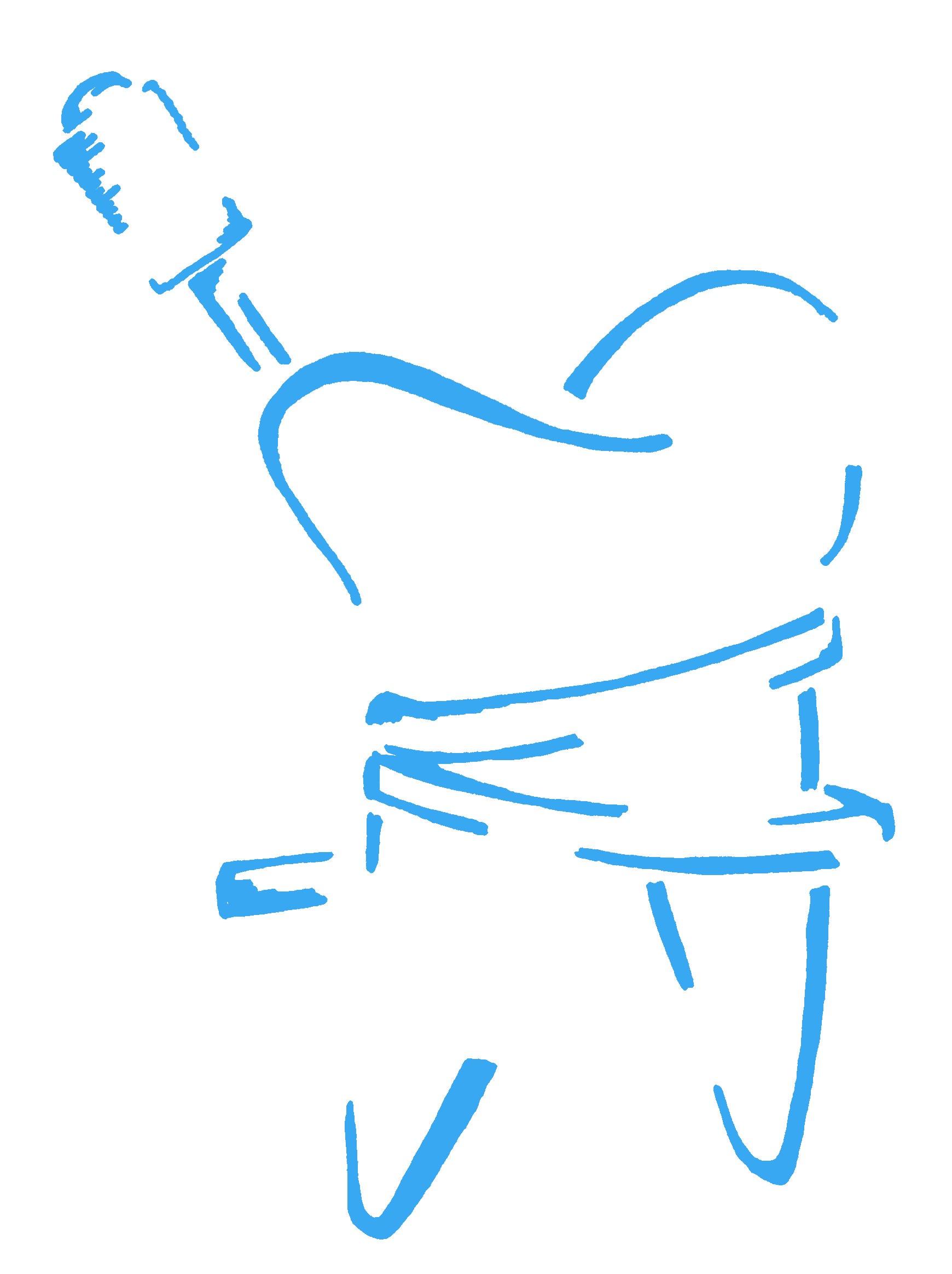 Logo Dental Rush Türkis